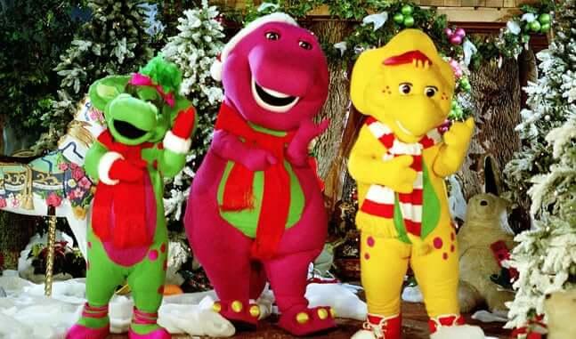 Shows, paradas e apresentações no parque Universal Studios em Orlando: A Day in the Park with Barney