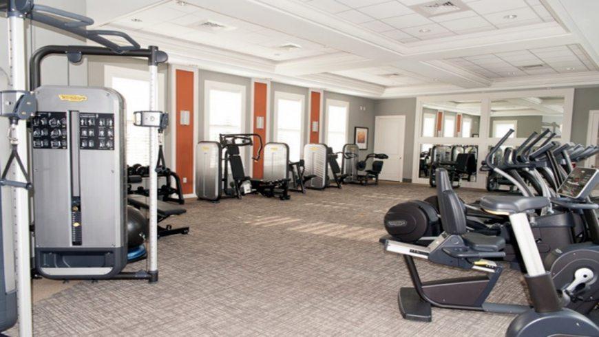 Condomínio de casas Solterra Resort em Orlando: academia