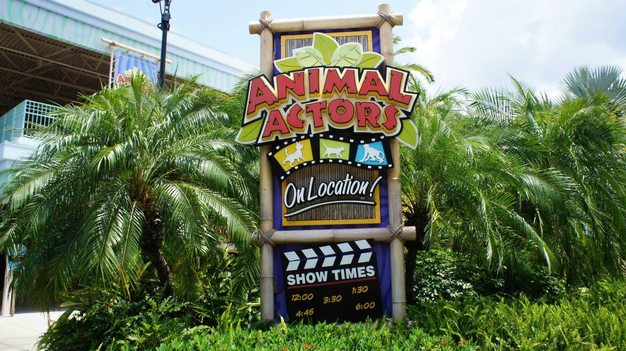 Shows, paradas e apresentações no parque Universal Studios em Orlando: Animal Actors On Location!