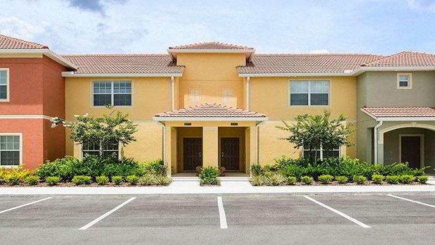 Aluguel de casa em Orlando: Condomínio de casas Paradise Palms Resort