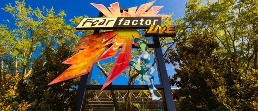 Shows, paradas e apresentações no parque Universal Studios em Orlando: Fear Factor Live