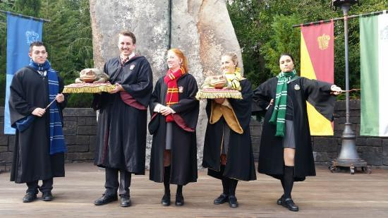 Shows, paradas e apresentações no parque Islands of Adventure em Orlando: Frog Choir