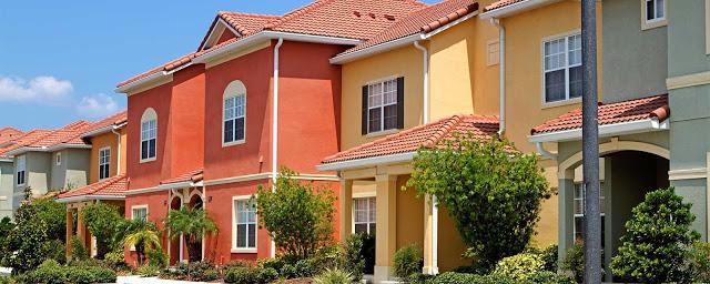 Condomínio de casas Paradise Palms Resort em Orlando: casas