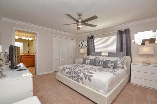 Condomínio de casas Paradise Palms Resort em Orlando: quarto