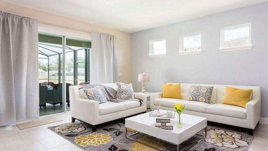 Condomínio de casas Solterra Resort em Orlando: interior da casa