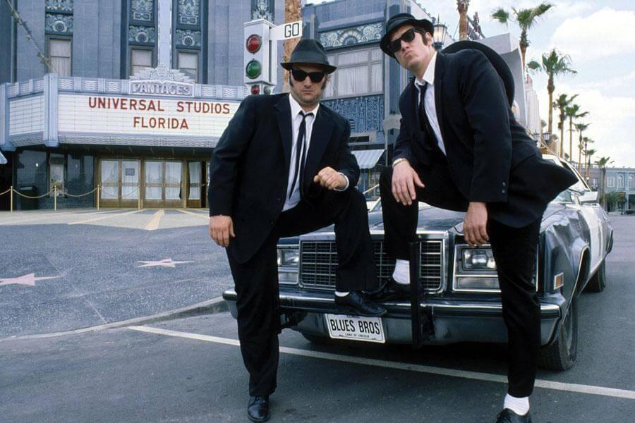 The Blues Brothers Show no parque Universal Studios em Orlando