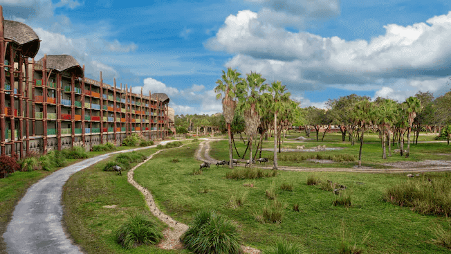 Disney's Animal Kingdom Villas - Kidani Village: savana africana