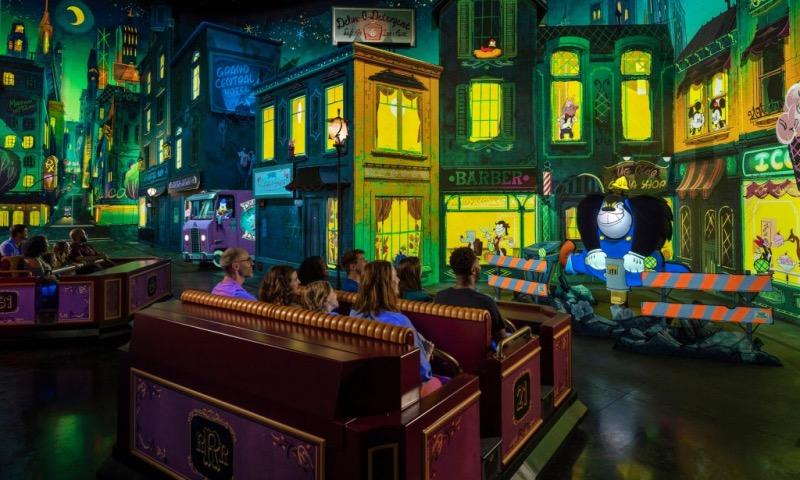 Passeio na Mickey and Minnie's Runaway Railway na Disney Orlando