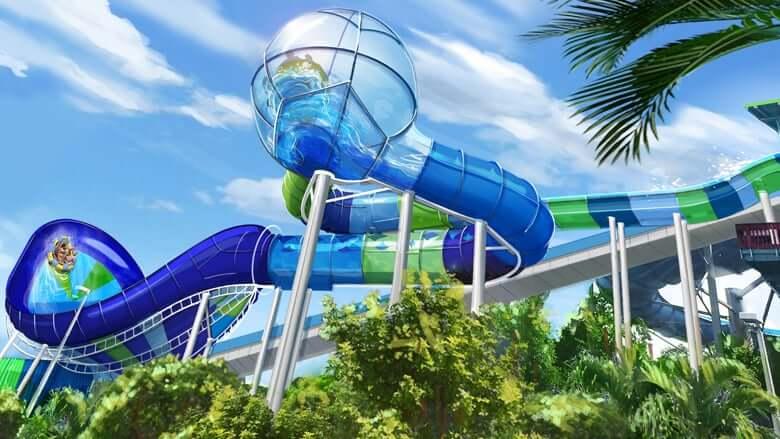 Parque Aquatica em Orlando: Ray Rush