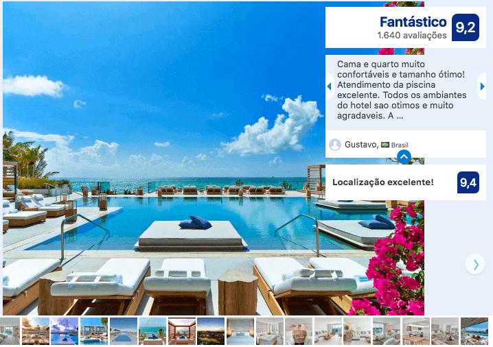 Melhores hotéis em Miami: 1 Hotel South Beach