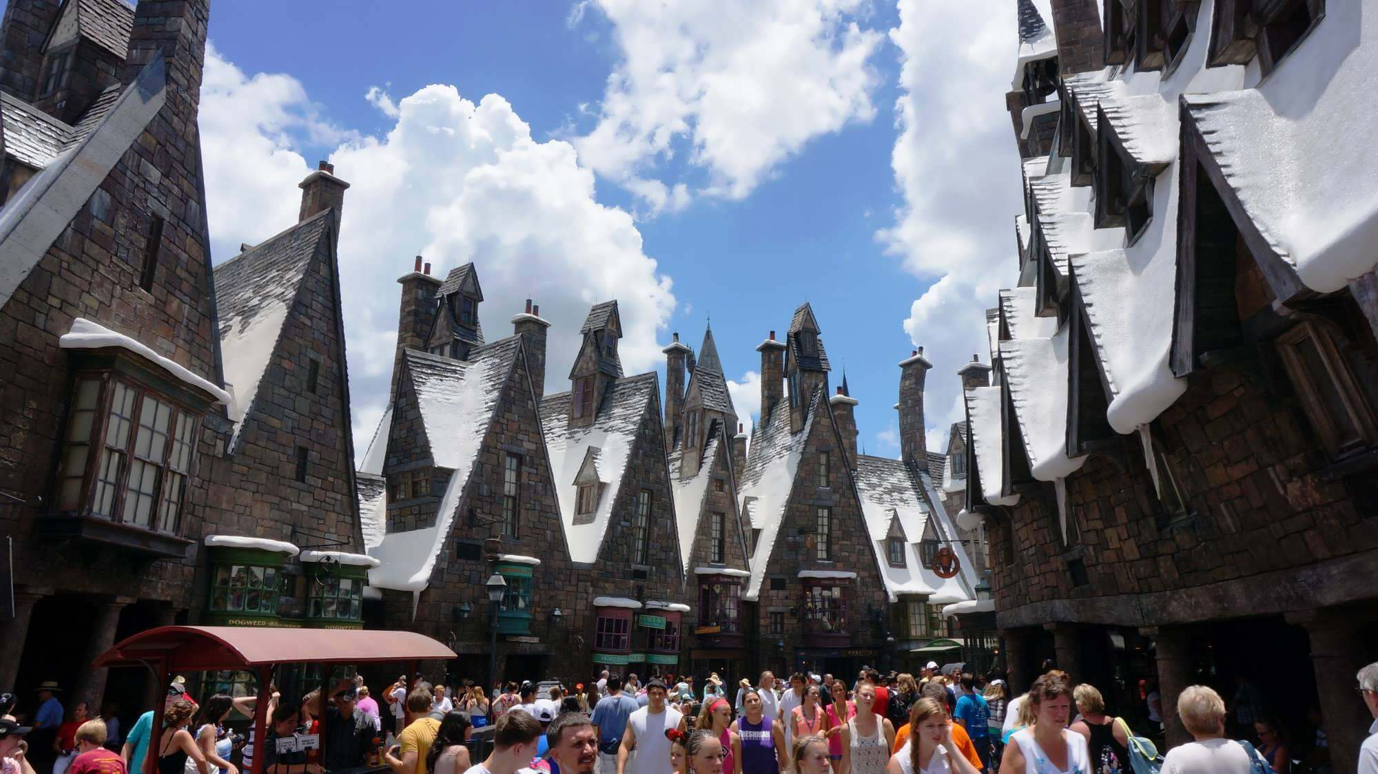 The Wizarding World of Harry Potter - Hogsmeade no parque Islands of Adventure em Orlando