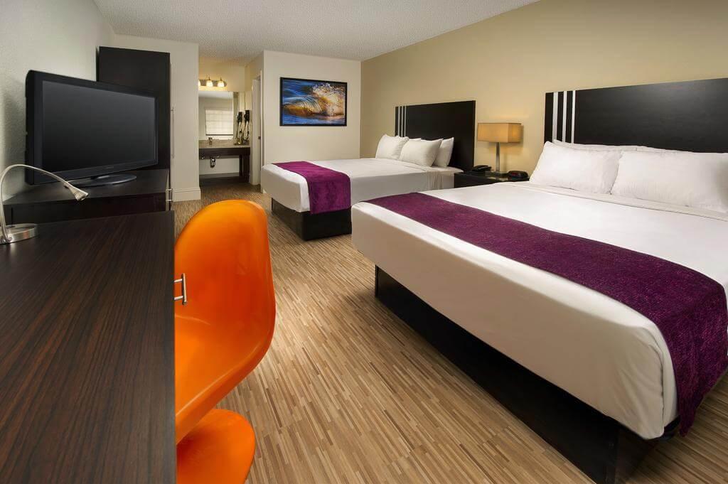 Dicas de hotéis em Orlando: Hotel Avanti International Resort - quarto