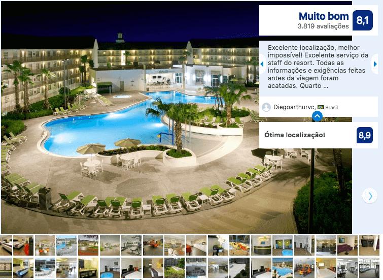 Dicas de hotéis em Orlando: Hotel Avanti International Resort