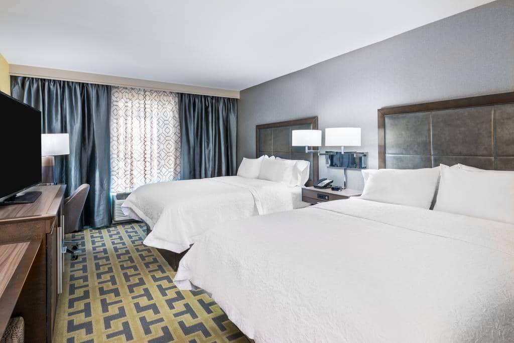 Melhores hotéis em Tampa: HotelHampton Inn & Suites Tampa Airport Avion Park Westshore - quarto