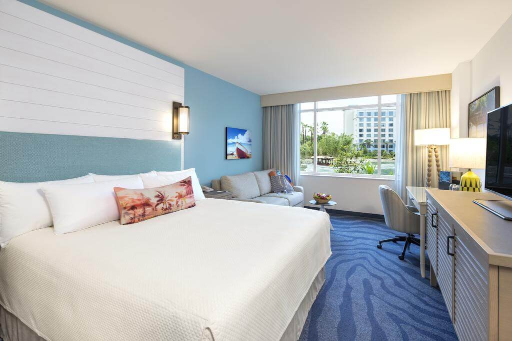 Melhores hotéis em Orlando: Universal's Loews Sapphire Falls Resort - quarto