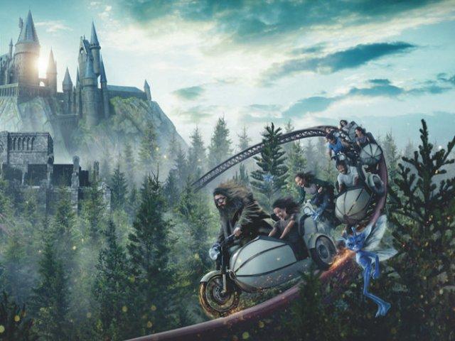 Nova montanha-russa do Harry Potter no Islands of Adventure