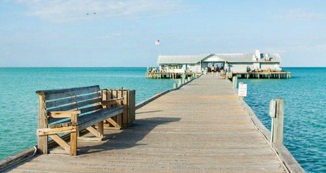 Anna Maria Island perto de Tampa na Flórida