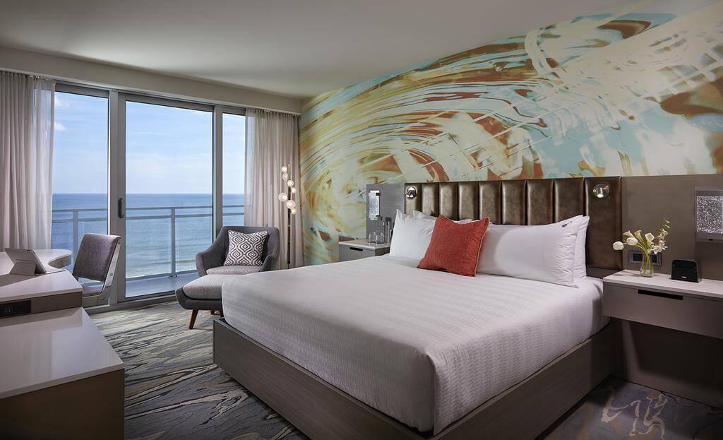 Hotéis de luxo em Daytona Beach: Hard Rock Hotel - quarto