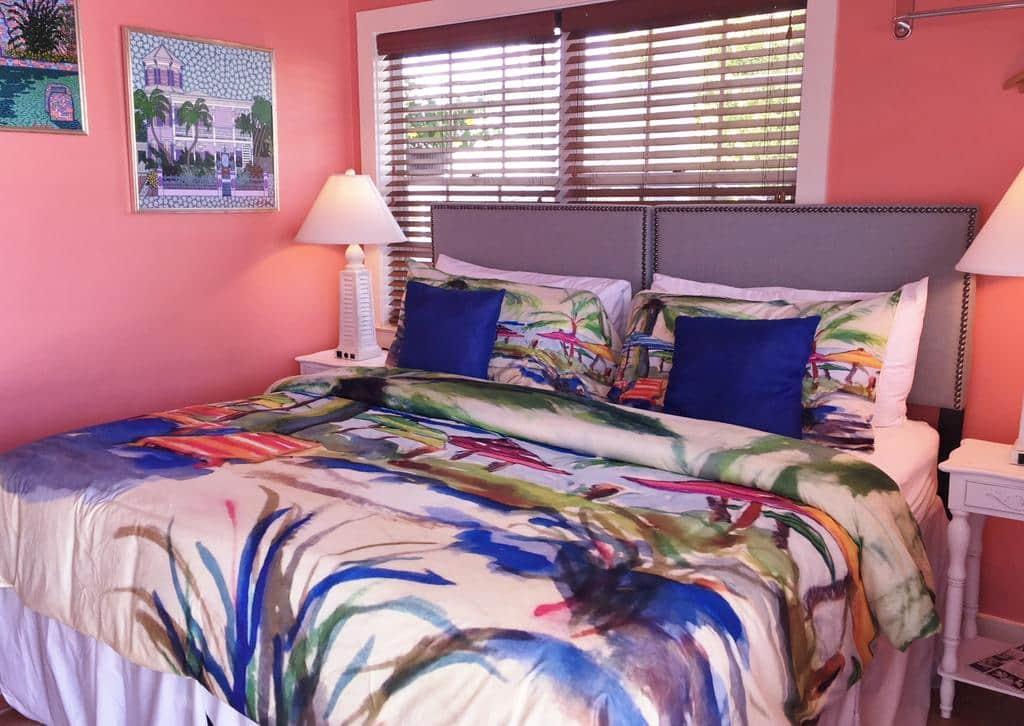 Dicas de hotéis em Key West: Hotel Caribbean House - quarto