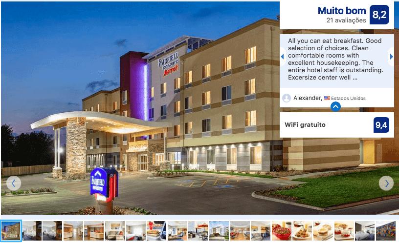Dicas de hotéis em São Petersburgo: Hotel Fairfield Inn & Suites by Marriott