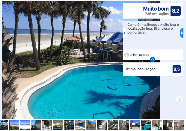 Hotéis bons e baratos em Daytona Beach: HotelFlamingo Inn Beachfront