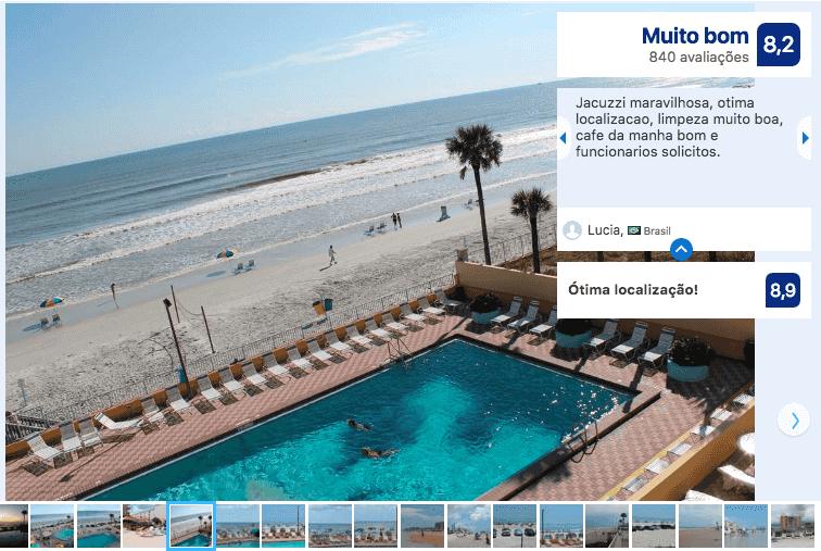 Dicas de hotéis em Daytona Beach: Hotel Fountain Beach Resort