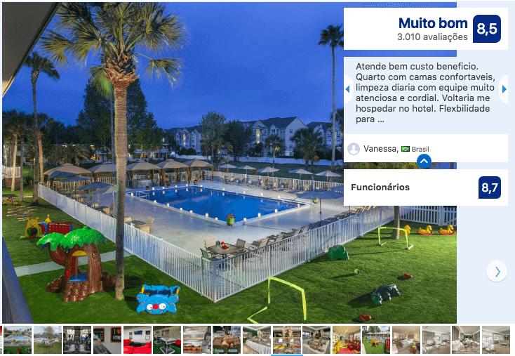 Dicas de hotéis em Kissimmee: HotelMagic Moment Resort and Kids Club