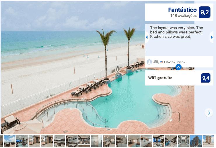Hotéis de luxo em Daytona Beach: Hotel Residence Inn by Marriott Daytona Beach Oceanfront