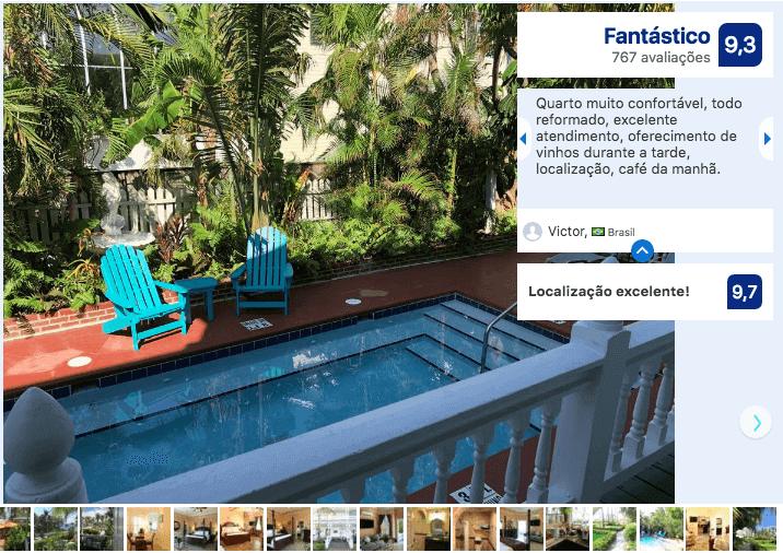 Hotéis de luxo em Key West: Hotel Southernmost Point Guest House
