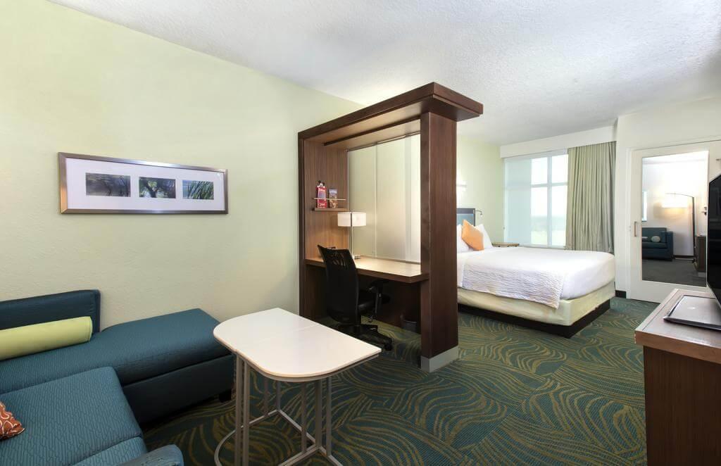 Dicas de hotéis em Kissimmee: Hotel SpringHill Suites by Marriott Orlando - quarto