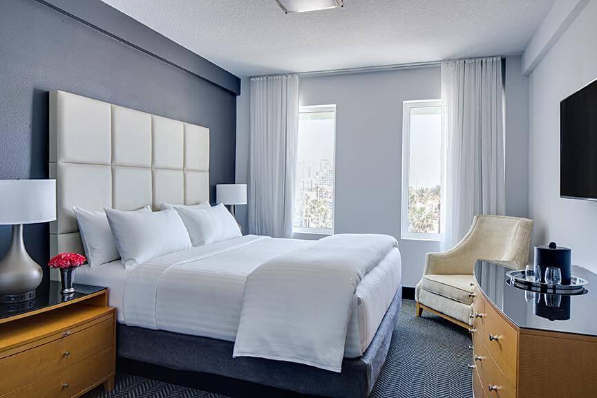 Hotéis de luxo em Daytona Beach: Hotel Streamline - quarto