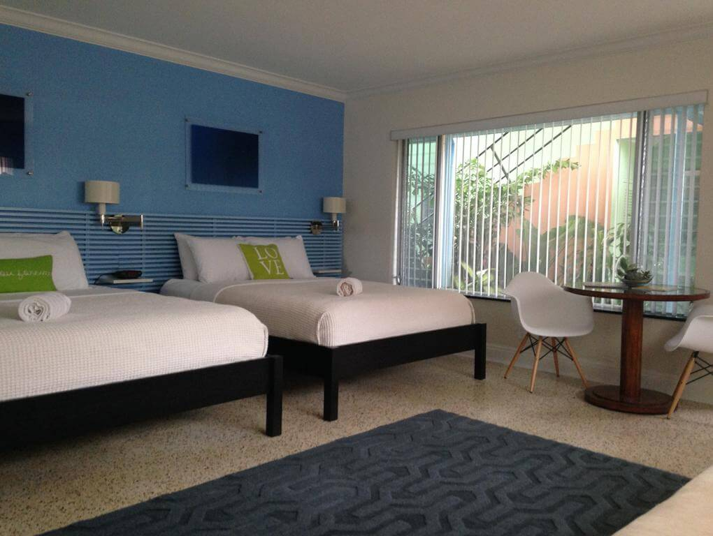Hotéis de luxo em Fort Lauderdale: Hotel The Victoria Park - quarto