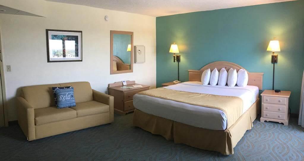 Dicas de hotéis em Daytona Beach: Hotel Tropical Winds Resort - quarto