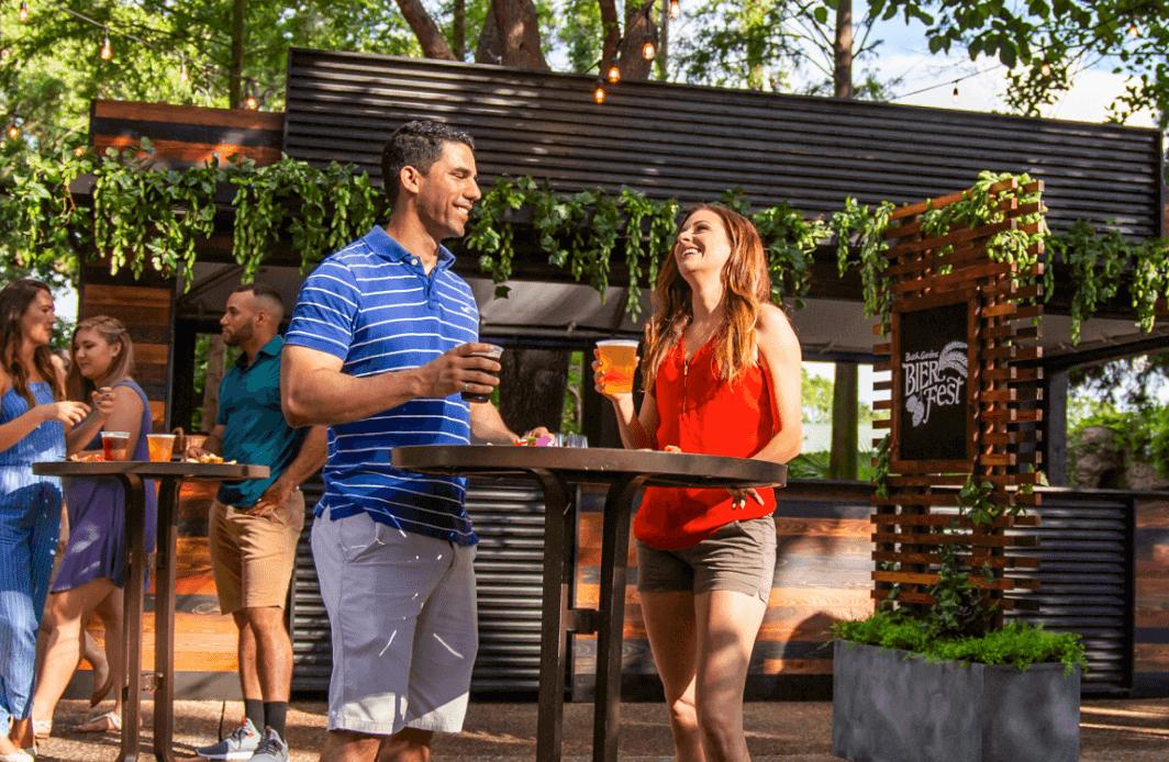 Parque Busch Gardens em Tampa: Bier Fest