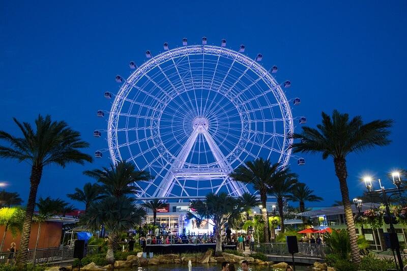 Reabertura dos parques em Orlando: complexo ICON Park Orlando
