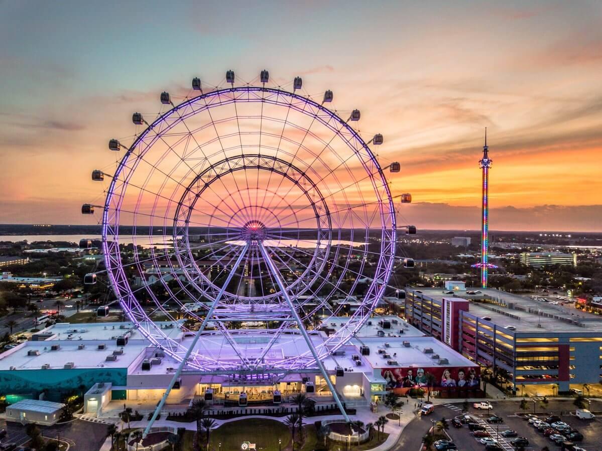 Complexo ICON Park em Orlando: Roda-gigante The Wheel