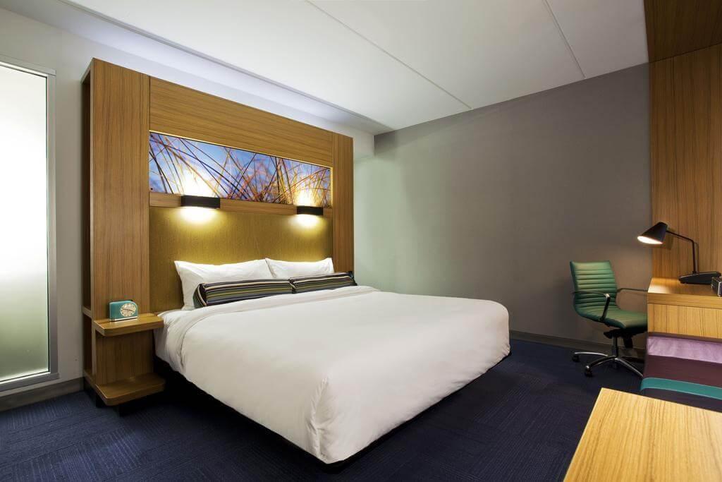 Hotéis de luxo em Jacksonville: Hotel Aloft - quarto