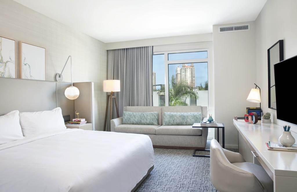 Hotéis de luxo em Sarasota: Hotel Art Ovation - quarto