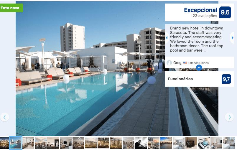 Hotéis de luxo em Sarasota: Hotel Art Ovation