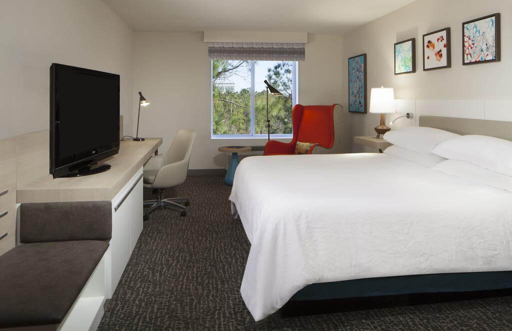 Hotéis de luxo em Jacksonville: Hotel Hilton Garden Inn - quarto