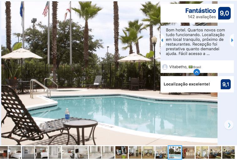 Hotéis de luxo em Jacksonville: Hotel Hilton Garden Inn