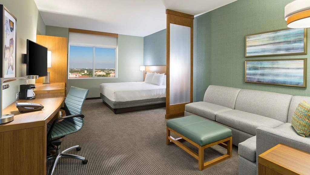 Dicas de hotéis em Boca Raton: Hotel Hyatt Place - quarto