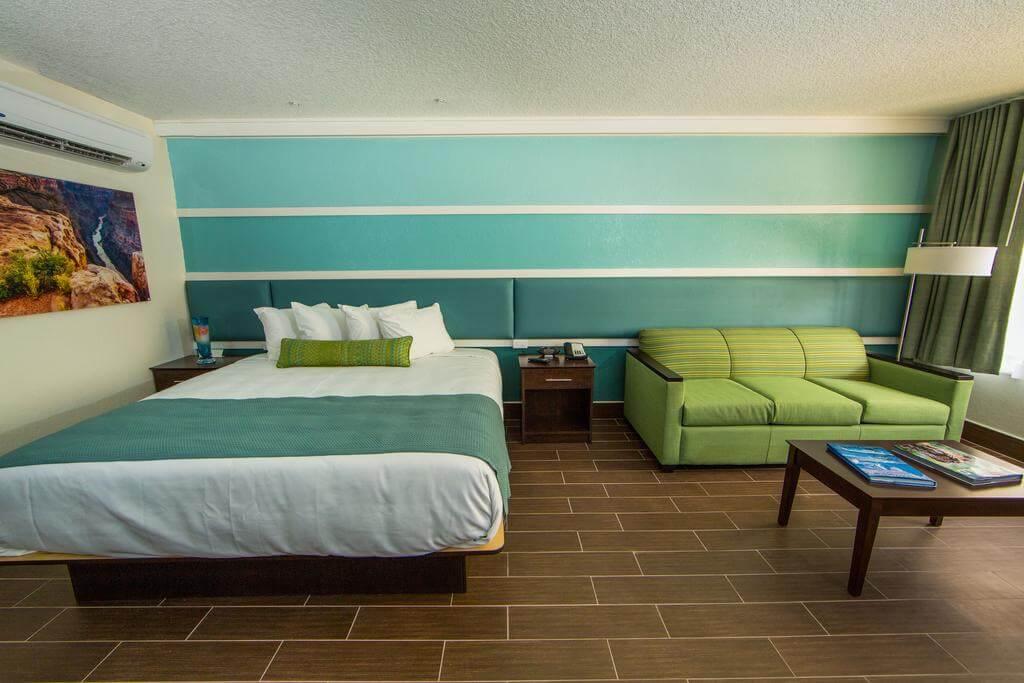Hotéis bons e baratos em Saint Augustine: Hotel Jaybird's Inn - quarto