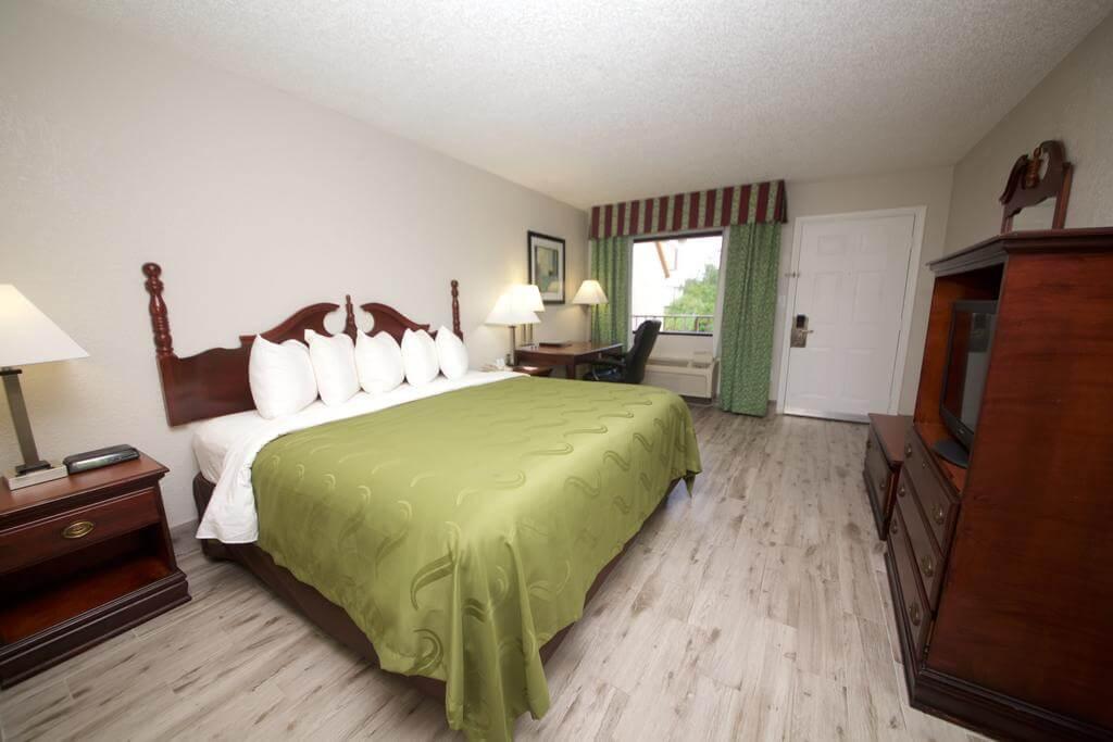 Hotéis bons e baratos em Saint Augustine: HotelQuality Inn - quarto
