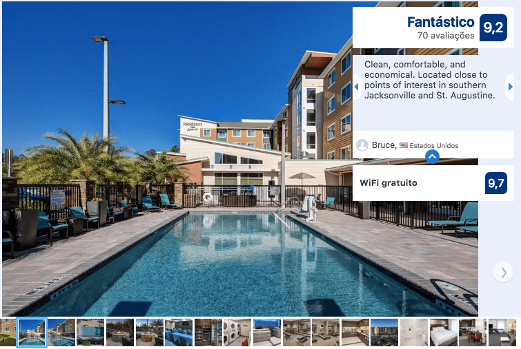 Hotéis de luxo em Jacksonville: HotelResidence Inn by Marriott