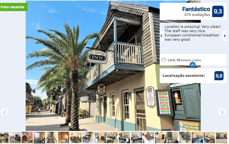 Hotéis de luxo em Saint Augustine: HotelSt George Inn