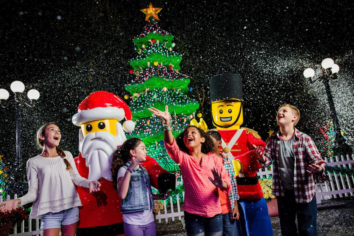 Natal na Universal Orlando em 2019: Christmas Bricktacular no Legoland