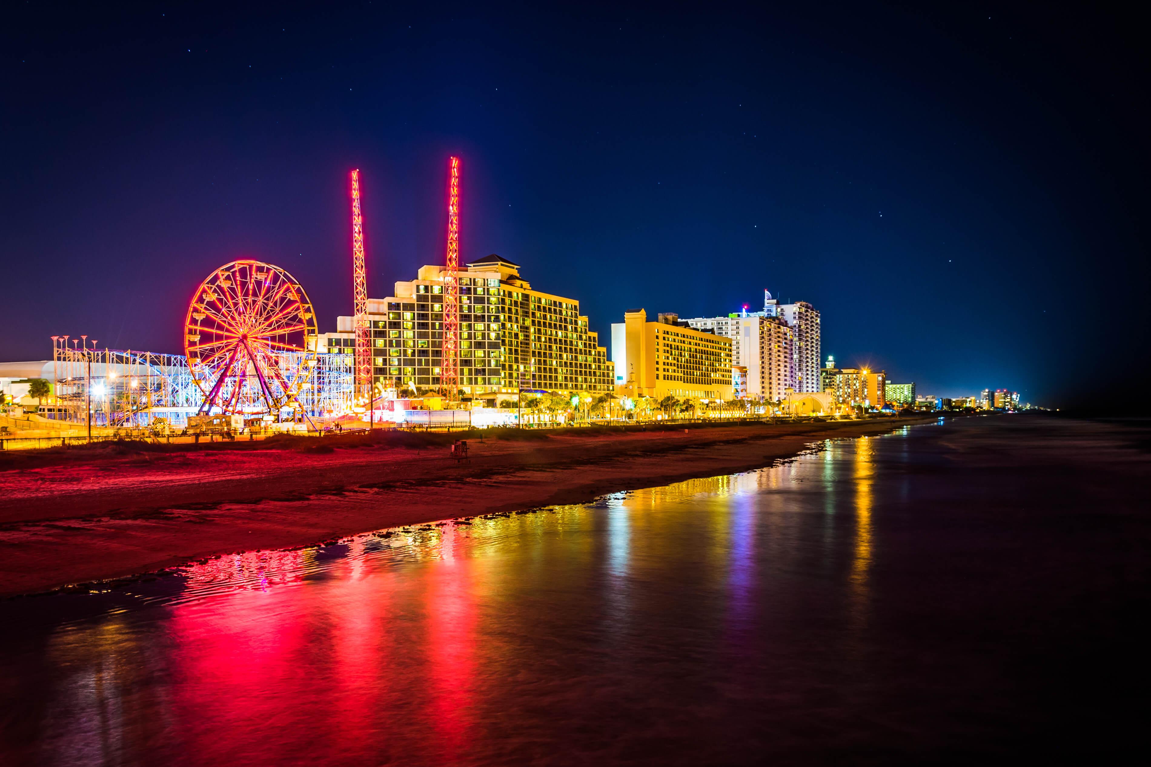 O que fazer à noite em Daytona Beach: Daytona Beach Pier and Boardwalk