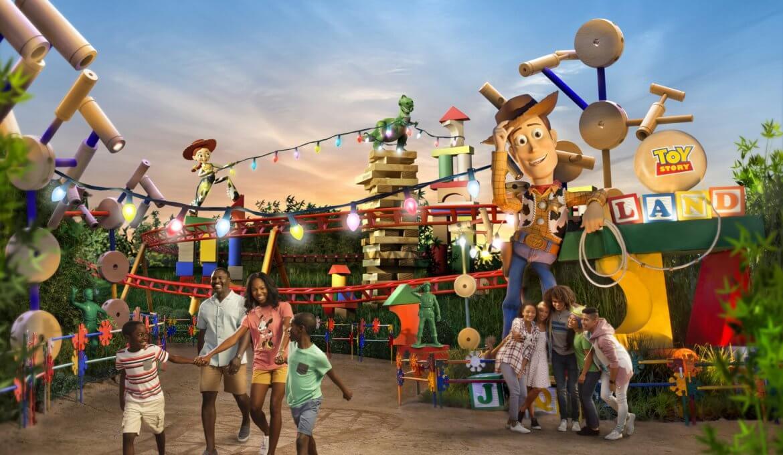 Como evitar filas na área Toy Story Land na Disney Orlando