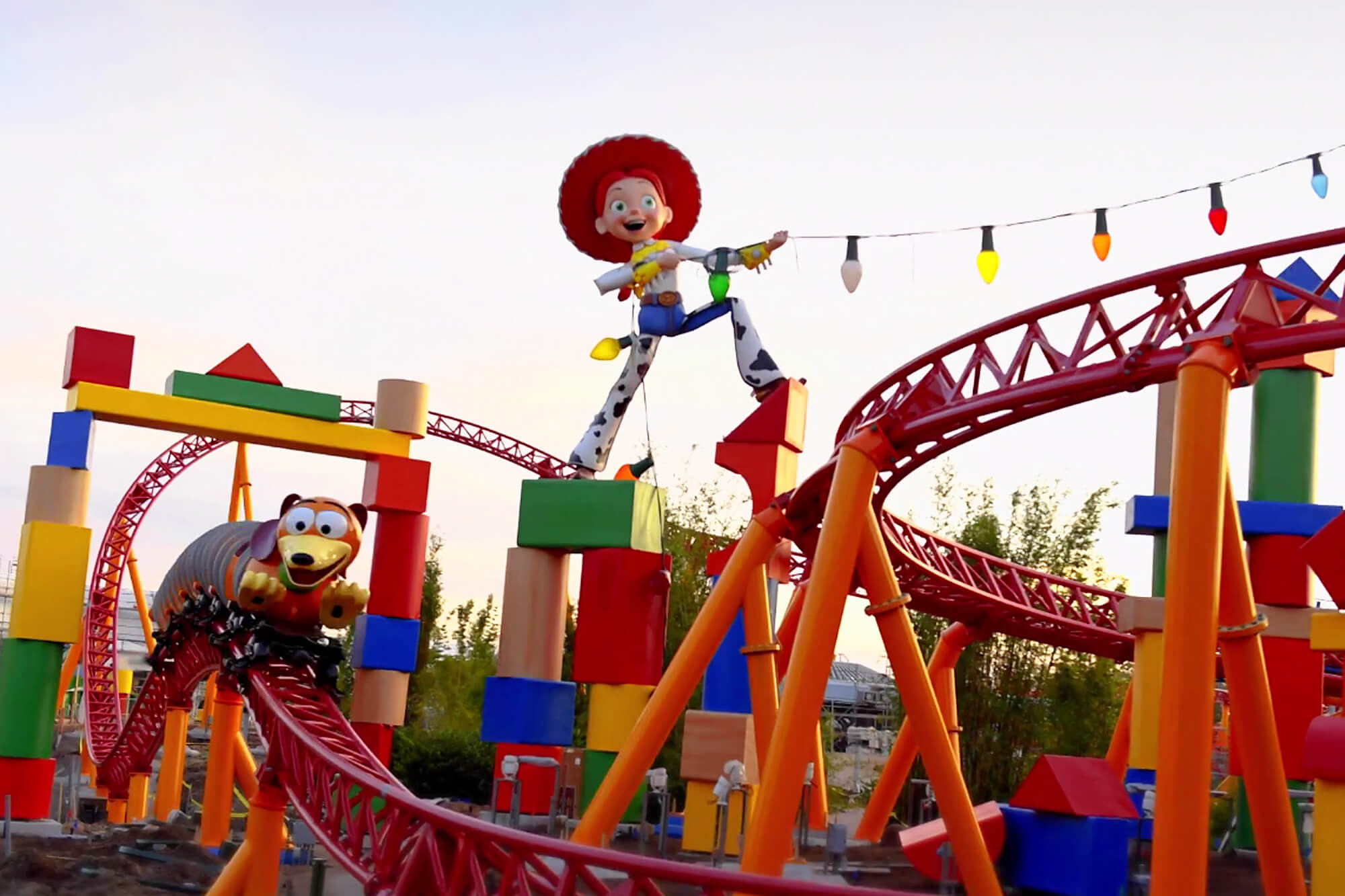 Área Toy Story Land na Disney Orlando